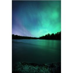 """Night Colors,"" Panoramic Photograph by John Whipple"