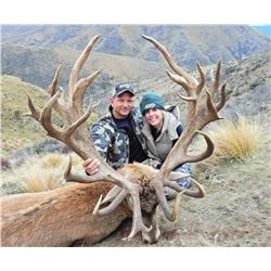 4-day/5-night New Zealand Trophy Red Stag Hunt up to Four Hunters