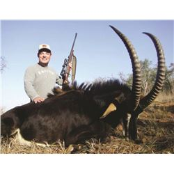 7-day South African Sable Hunt for One Hunter and One Observer—Includes $3,000 Credit Towards Trophy