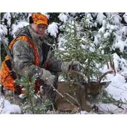 5-day Montana Whitetail or Mule Deer November Rut Hunt for One Hunter