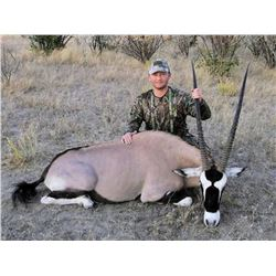 8-day Namibia Plains Game Hunt and Safari for One Hunter and One Observer -- Includes Three Trophies