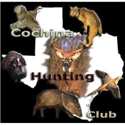 2-day/3-night Texas Multi-species Hunt for Three Hunters