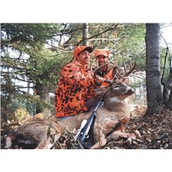 6-day/8-night Wisconsin Trophy Whitetail Buck Muzzleloader Hunt (Free Range) for One Hunter