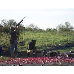 4-day/4-night Argentina Combination Dove Hunt and Golden Dorado Fishing Trip for Four People