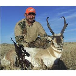 3-day Wyoming Pronghorn Antelope Hunt for One Hunter