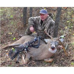 5-day/6-night Kansas Trophy Whitetail Hunt for One Hunter