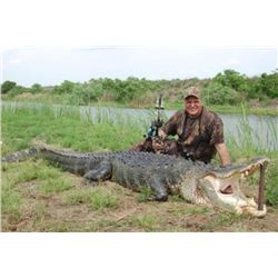 3-day Florida Alligator Hunt for One Hunter