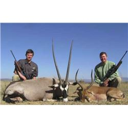 7-day South African Plains Game Hunt for 2 Hunters