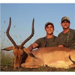 5-day South African Plains Game Hunt for One Hunter and One Observer