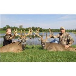 3-day/4-night Ohio Trophy Whitetail Deer Hunt for Two Hunters