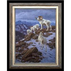 """""""The Moment of Truth"""" Original Oil Painting on Linen Canvas by Artist Chip Brock"""
