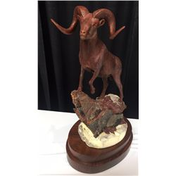 AK WSF Dall Sheep Conservation Legacy Bronze