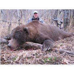 10-day Togiak National Wildlife Refuge Wilderness Coastal Brown Bear Hunt for One Hunter