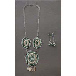 ZUNI NECKLACE AND EARRINGS