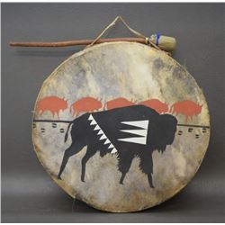 PLAINS DANCE DRUM