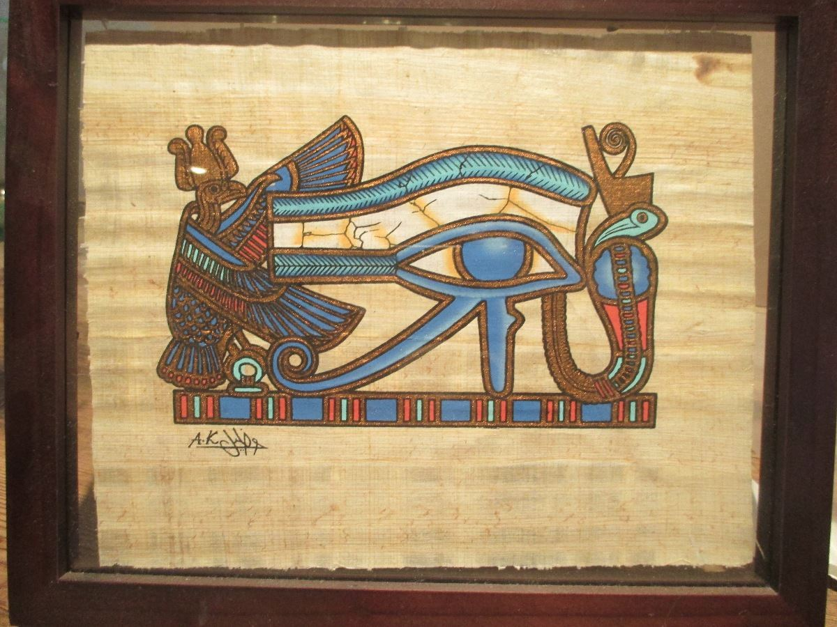 Original Egyptian Papyrus Print