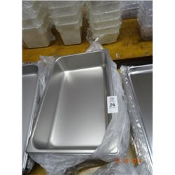 "Full Size by 4"" Insert Pans - 6 Time the Money"