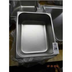 "1/2 Size by 4"" Insert Pans - 6 Times the Money"