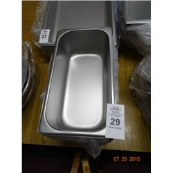 "1/3 Size by 4"" Insert Pans - 6 Times the Money"