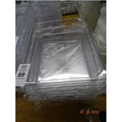 "1/2 Size by 4"" Cambro Pans - 6 Times the Money"