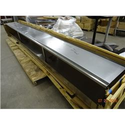 14' S/S Double Overshelf - No Shipping