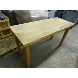 Butcher Block Table - 5'