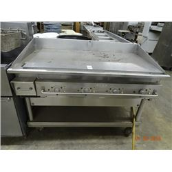 Commercial Electric 4' Flat Grill