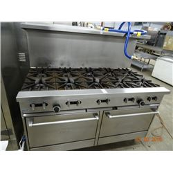 Sunfire Gas 10 Burner w/Double Oven