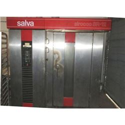 Salva Sirocco #SR-12 LP Gas Roll In Rack Oven Model # SRB-12-G S/N #133368