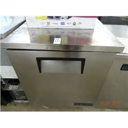 "27"" True S/S Worktop Freezer - Tested at 36 deg."