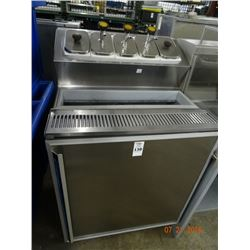 "27"" Silver King Refrigerated Topping Station - Did Not Get Cold"