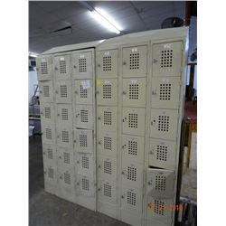 2 - 18 Unit Locker Sections - 2 Times the Money