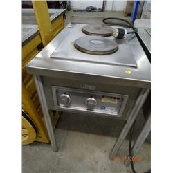 Wells S/S Pedestal Double Electric Range