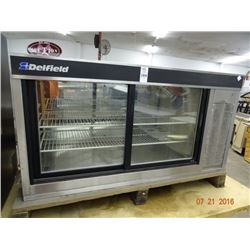 Delfield Refrigerated Merchandiser - Tested at 40 deg.