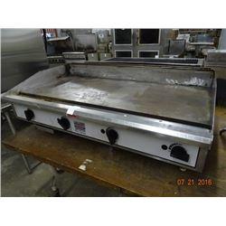 Toastmaster Pro-Series Gas 4' Flat Grill
