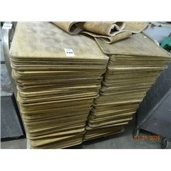 Lot of Wood Bakery Sheets