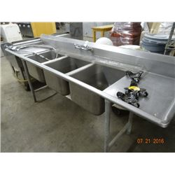 S/S 3 Comp Sink