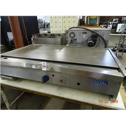 Royal Gas 4' Flat Grill