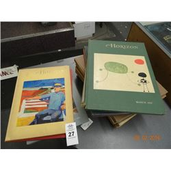 Lot of 1950's & 1960's Horizon Art Books