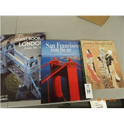 Lot of 3 Travel Books