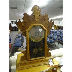 Old Seth Thomas Pendulum Mantle Clock (Key In Ofiice)