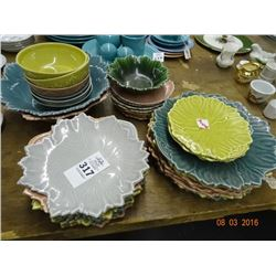 Steubenville Wood Field Colored Dishes - No Shipping