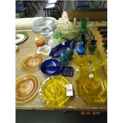 Depression & Art Glass Dishes
