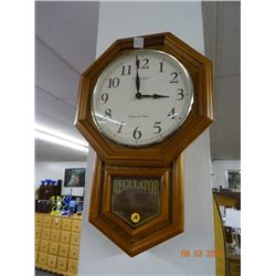 Regulator Wall Battery Clock