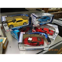 5 Maisto Die Cast Cars - 5 Times the Money