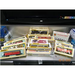 15 Bachmann Asst. Train Cars - 15 Times the Money