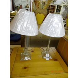 Pair of Stick Lamps