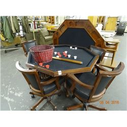 Bumper Pool/Poker Game Table