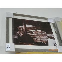 The Old Boat Framed Art