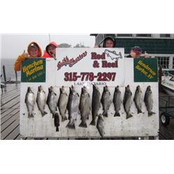 Full Day Charter Fishing Trip on Lake Ontario